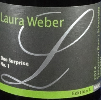 Weber Duo Surprise No. 1 Sauvignon Blanc & Scheurebe Qba trocken