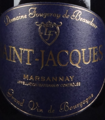 "Fougeray de Beauclair Marsannay ""Le Saints-Jacques"" 2011"